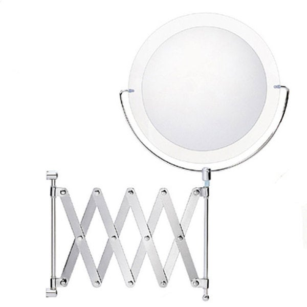 Shop Danielle Globe Collection 6x Chrome Extension Mirror