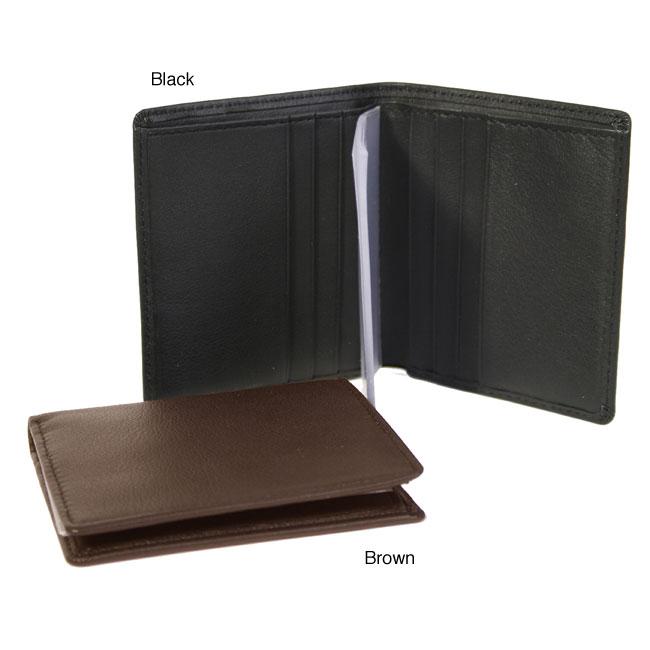 Royce Leather Men's Bi-fold Wallet