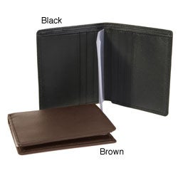 Royce Leather Men's Bi-fold Wallet