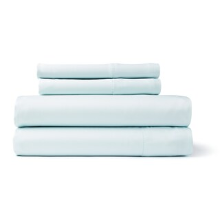 Solid Colored Rayon from Bamboo Breathable Deep Pocket Sheet Set (More options available)