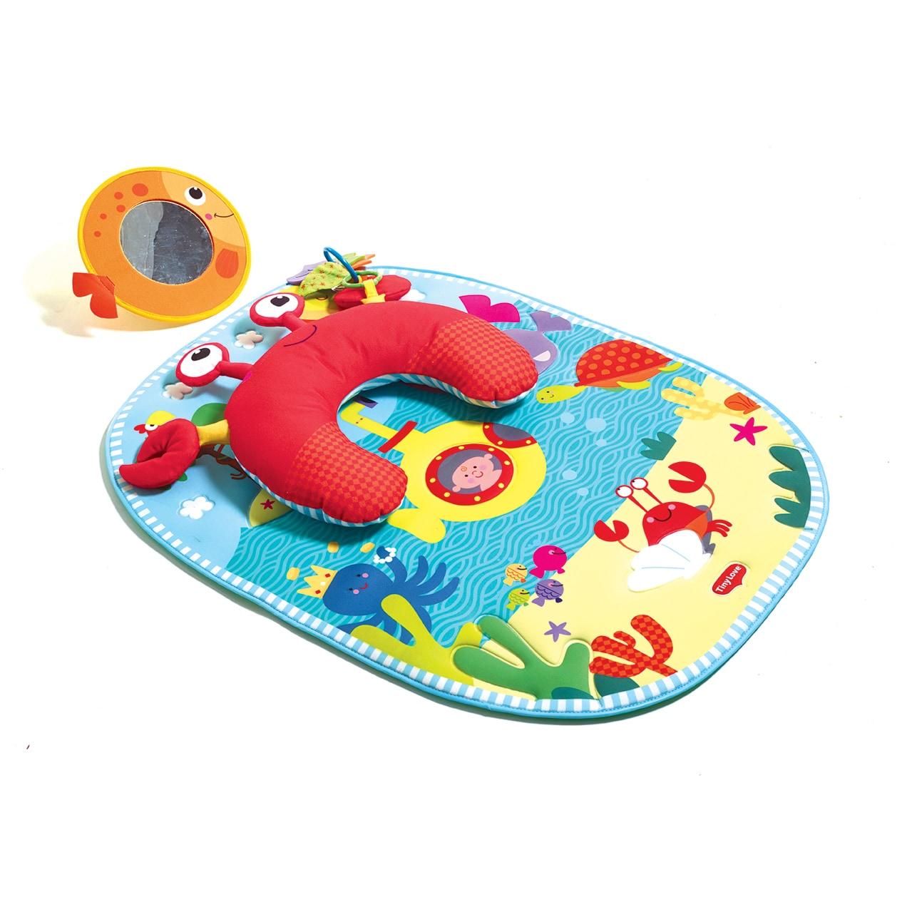 Tiny Love Tummy Time Fun Playmat (Under the Sea (Blue))