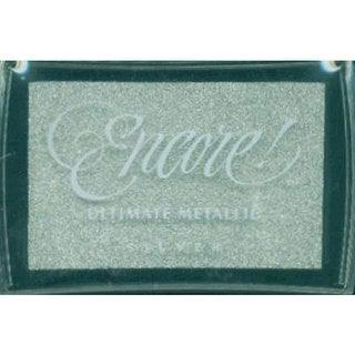 Encore Ultimate Metallic Silver Inkpad