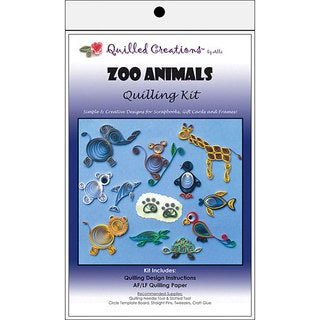 Zoo Animals Quilling Kit