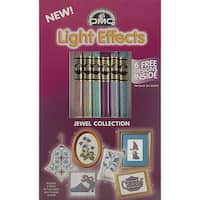 DMC Light Effects Jewel Collection Metallic Floss (Pack of 6)