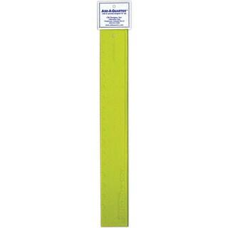 CM Designs Add-A-Quarter 18-inch Yellow Ruler
