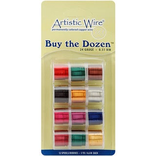 Artistic Wire Buy the Dozen 5-yard 22-gauge Color Wire (Pack of 12)