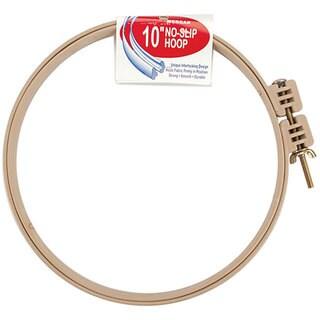 Plastic 10-inch No-slip Hoop