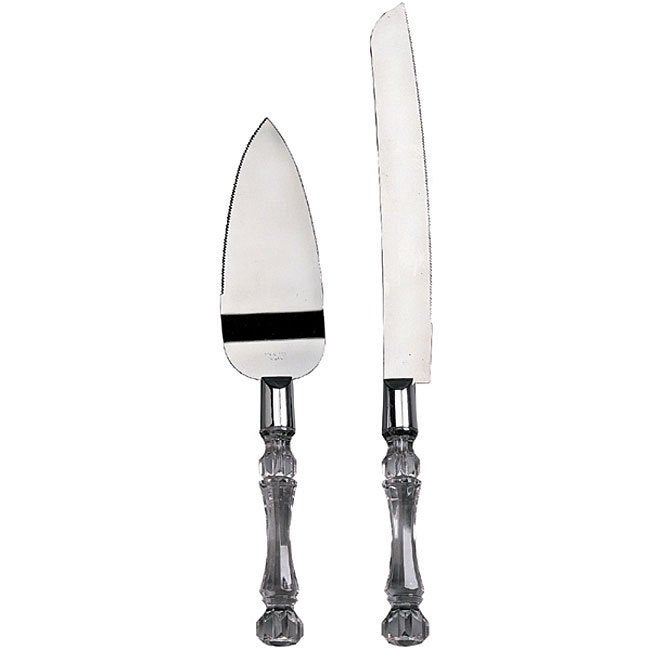 DARICE Knife and Cake Server Set (Knife & Cake Server Set...