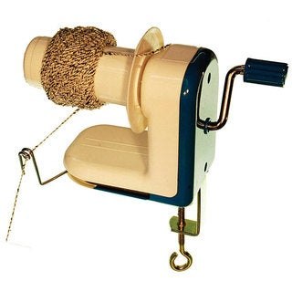 Inline Hand-operated Bobbin Table-clamp Yarn-ball-winder Tool