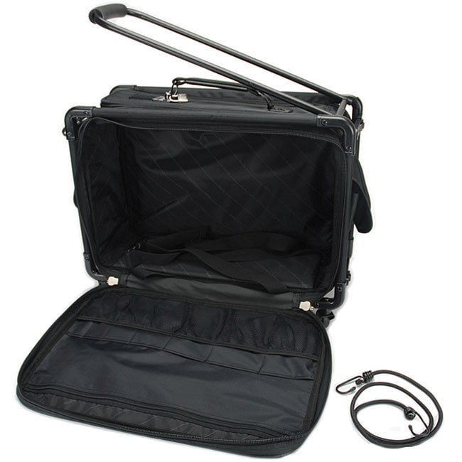 TUTTO Small Black Machine On Wheels Case (Tutto Machine O...