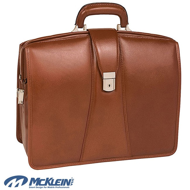 McKlein Harrison Brown Partners 17-inch Laptop Briefcase