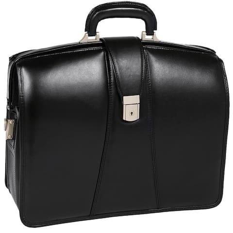 McKlein Harrison Black 17-inch Partners Laptop Briefcase