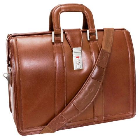 McKlein Brown Morgan 17in. Litigator Laptop Briefcase