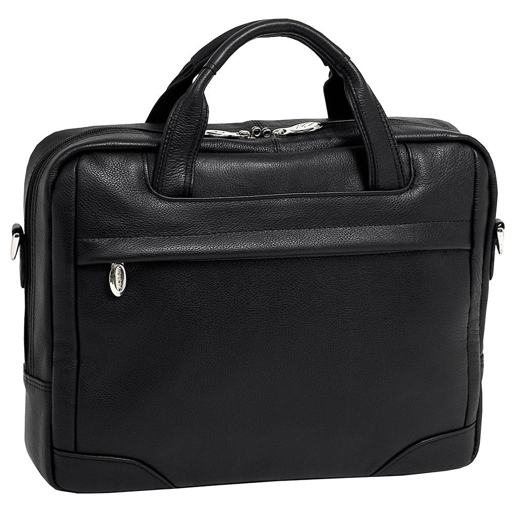 McKlein USA McKleinUSA Montclare Black Small Leather 13.3...