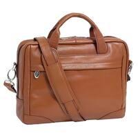 McKleinUSA Montclare Brown Small Leather 13.3-inch Laptop Briefcase