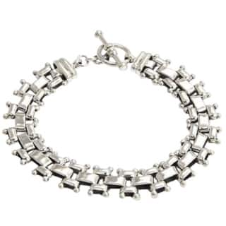 Freedom Everyday or Dressy Toggle Closure Fluid Flexible 925 Sterling Silver Unique Gift Mens Modern|https://ak1.ostkcdn.com/images/products/3665733/P11728150.jpg?impolicy=medium