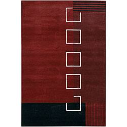 Artist's Loom Hand-tufted Contemporary Geometric Wool Rug (7'9x10'6)|https://ak1.ostkcdn.com/images/products/3665933/Hand-tufted-Mandara-Contemporary-Wool-Rug-79-x-106-P11728348.jpg?impolicy=medium