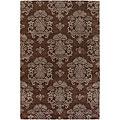 Artist's Loom Hand-tufted Transitional Oriental Wool Rug (7'9x10'6)