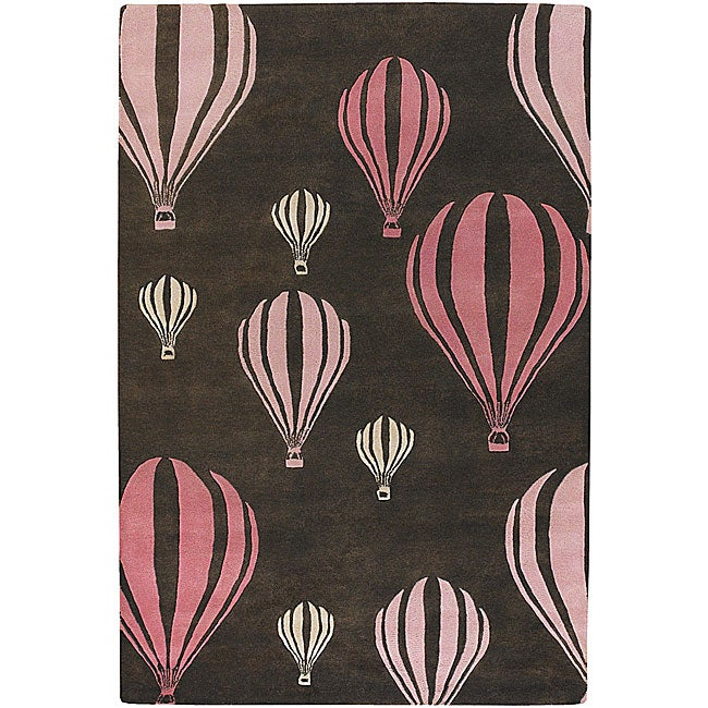 Hand-tufted Toddler Rug (2'6 x 7'6)