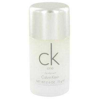 CK One by Calvin Klein Unisex 2.6-ounce Deodorant