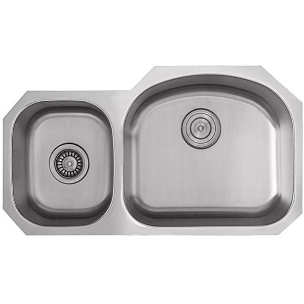 Ticor Stainless Steel 16-gauge Undermount Kitchen Sink