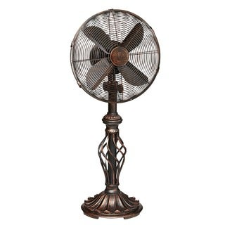 Deco Breeze Prestige Rustica 12-inch Table Top Fan