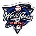 2000 World Series Patch