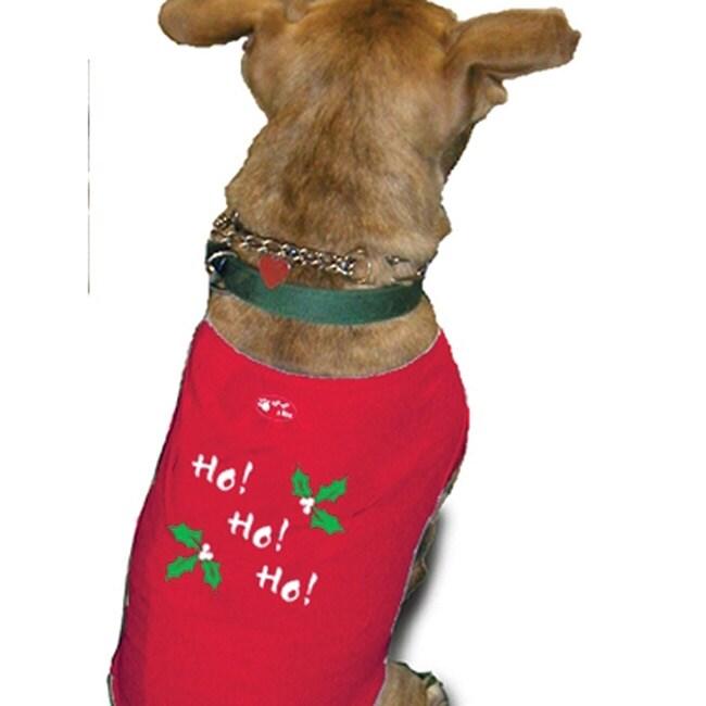 'Ho! Ho! Ho!' Dog Tank Top