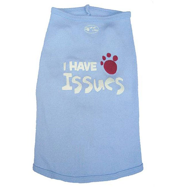 'I Have Issues' Dog's Tank Top