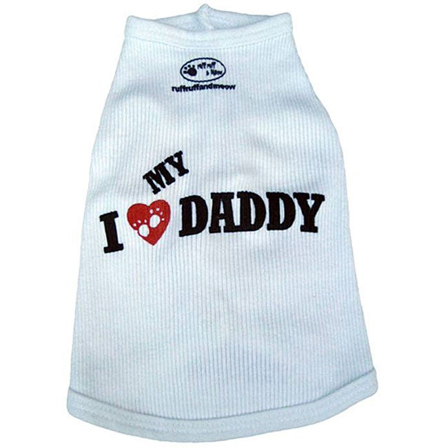 'I Love My Daddy' Dog's Tank Top - Thumbnail 0