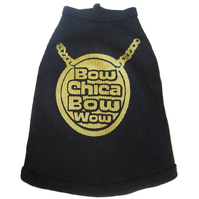 Ruff Ruff and Me 'Bow Chica Bow Wow' Dog Tank Top