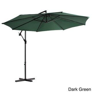 Lauren & Company Aluminum 10-foot Offset Umbrella