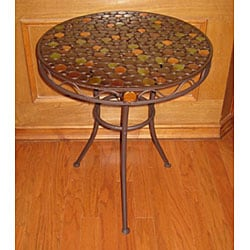 Iron 'Circles' Round Table