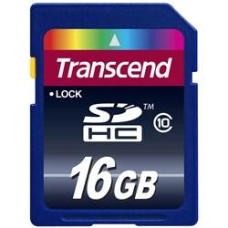 Transcend 16GB Secure Digital High Capacity (SDHC) Class 6 Card