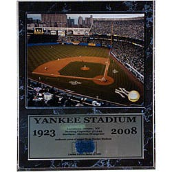 Yankee Stadium 1923 - 2008 Baseball Dugout Carpet Plaque (12' x 15')|https://ak1.ostkcdn.com/images/products/3672040/Yankee-Stadium-1923-2008-Baseball-Dugout-Carpet-Plaque-12-x-15-P11738273.jpg?impolicy=medium