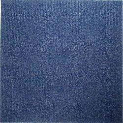 Do It Yourself Blue Carpet Tiles (144 Square Feet)