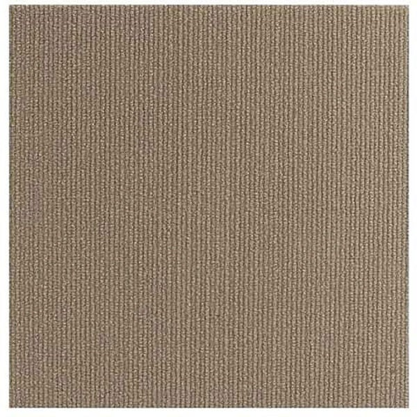 Do It Yourself Beige Self Stick Carpet Tiles (144 Square Feet)