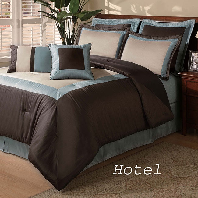 Hotel 8 Piece Comforter Set Free Shipping Today