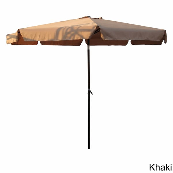 International Caravan Aluminum 10 Foot Patio Umbrella