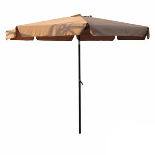 International Caravan Aluminum 10 Foot Patio Umbrella