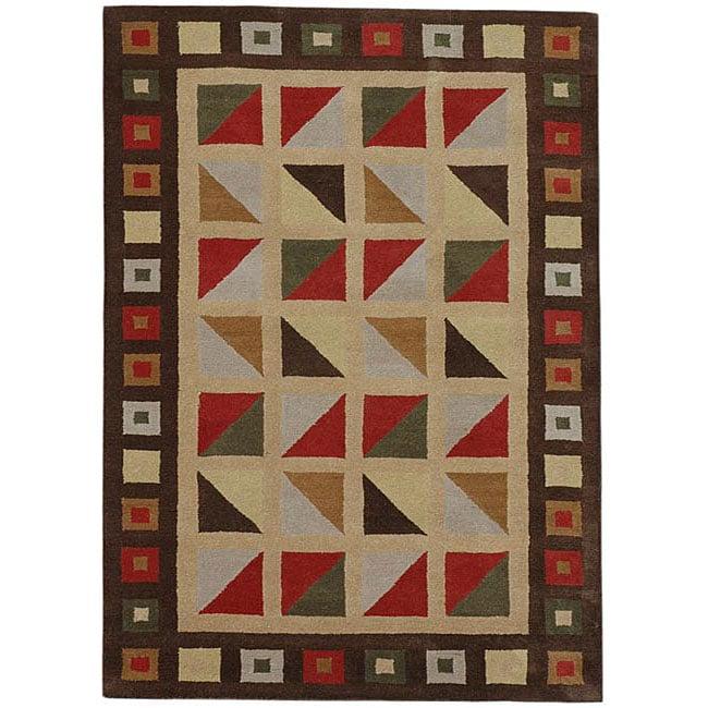 Hand-tufted Wool Rug (8' x 10'6)