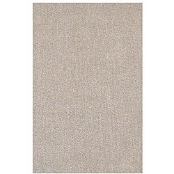 Hand-tufted Hard Twist Camel Wool Rug (8' x 10'6)