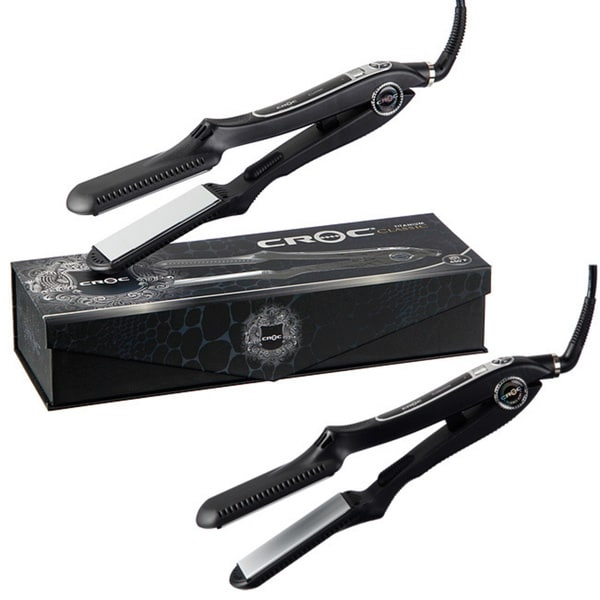 Turboion Croc Classic 450 Regular 1 5 Inch Flat Iron