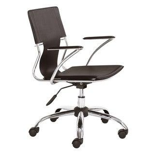 Tristan Espresso Office Chair
