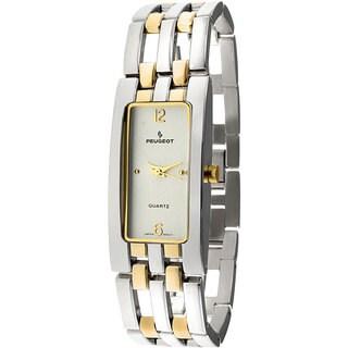 Peugeot Women's Two-tone Open-link Bracelet Watch