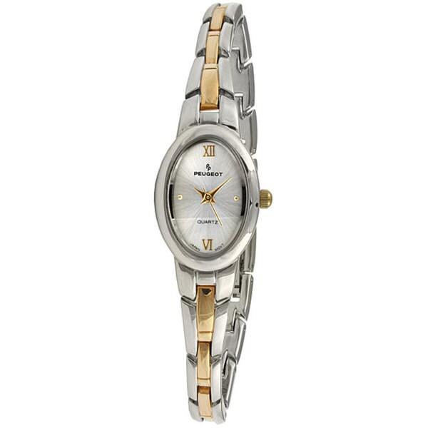 Peugeot Women's Two-tone Silver Dial Watch