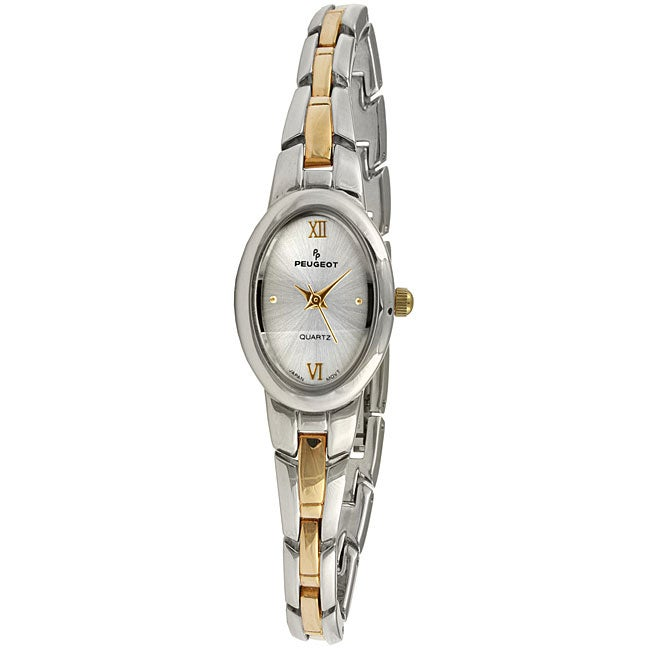 Peugeot Women's Two-tone Silver Dial Watch