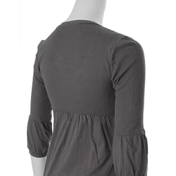 Belle du Jour Women's Scoop Neck Tunic