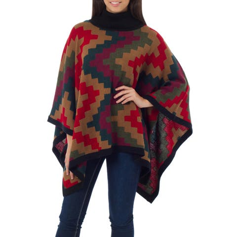 d38e8d84f Buy Acrylic Ponchos Online at Overstock | Our Best Scarves & Wraps Deals