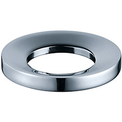 KRAUS Pop-Up Drain and Mounting Ring in Satin Nickel